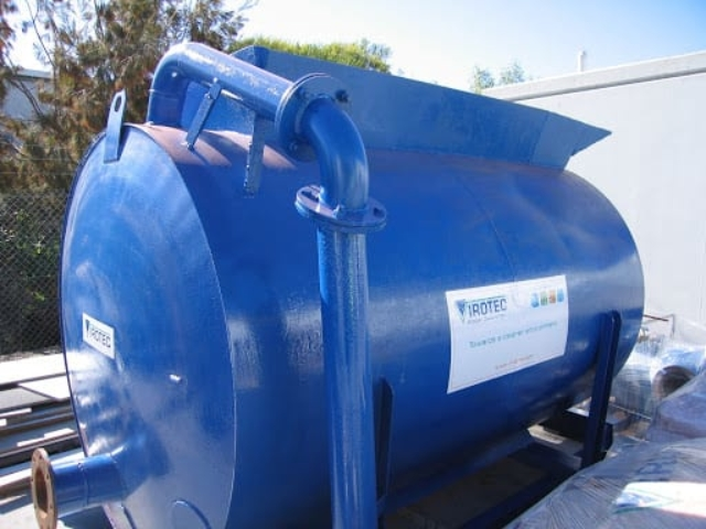 On-Site-Water-Treatment - 6,000L Mixing/Dosing Tank